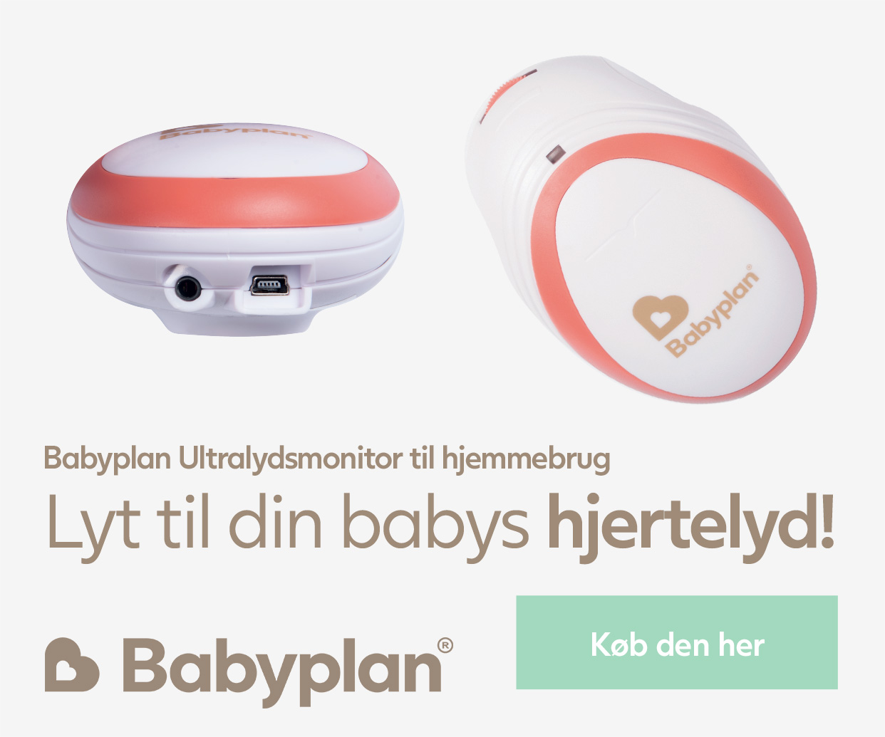 Babyplan ultralydsmonitor