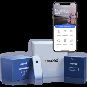 ExSeed Health sædtest og app